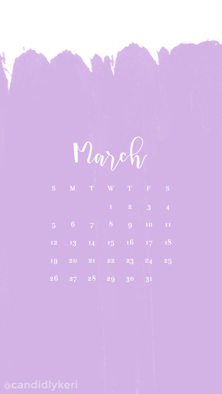 Lilac light purple paint stripes March calendar 2017 wallpaper you can download for free on the blog! For any device; mobile, desktop, iphone, android!