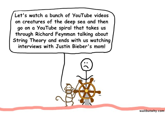 Why Procrastinators Procrastinate: The Instant Gratification Monkey and The Dark Playground - 100% correct