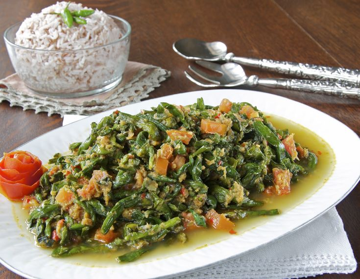 Indonesian Medan Food: Tumis Genjer