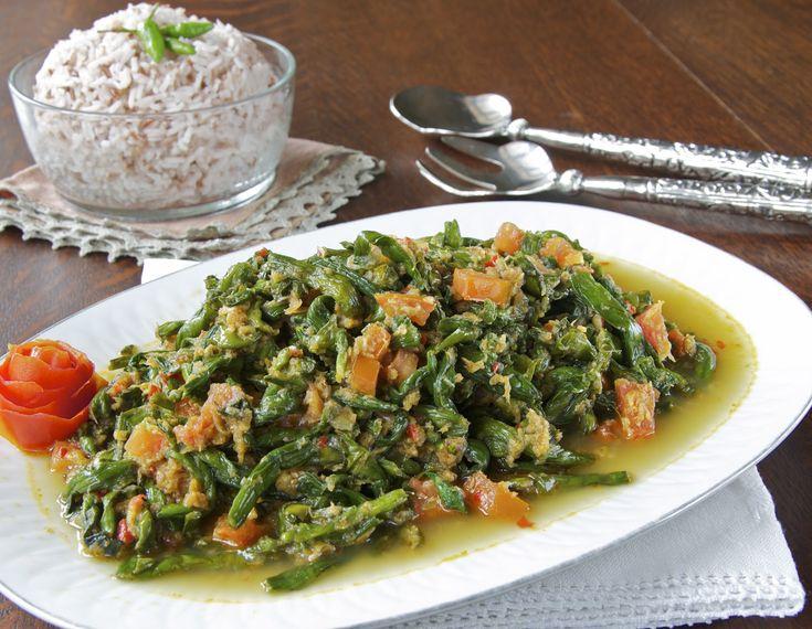 Indonesian Medan Food: Tumis Genjer