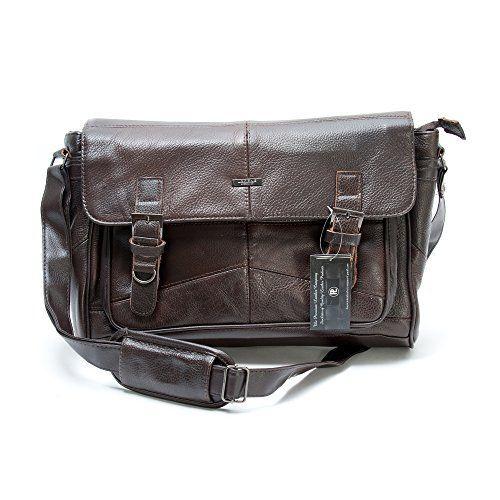 Men's Soft Leather Satchel / Shoulder Messenger Bag with Adjustable Shoulder Strap in Brown, http://www.amazon.co.uk/dp/B00K1GX0SC/ref=cm_sw_r_pi_awdl_xBZLvb0KJEWMP