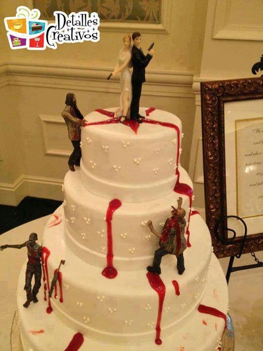Zombieweddingcake