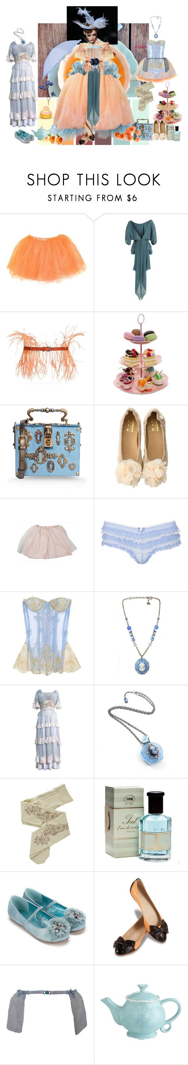 """""""If it ain't Baroque"""" by verysmallgoddess ❤ liked on Polyvore featuring Christian Dior, Alexis Mabille, Maggie Norris Couture, The Row, Emilio Pucci, Dolce&Gabbana, Accessorize, Rosamosario, Tarina Tarantino and ZOHARA"""