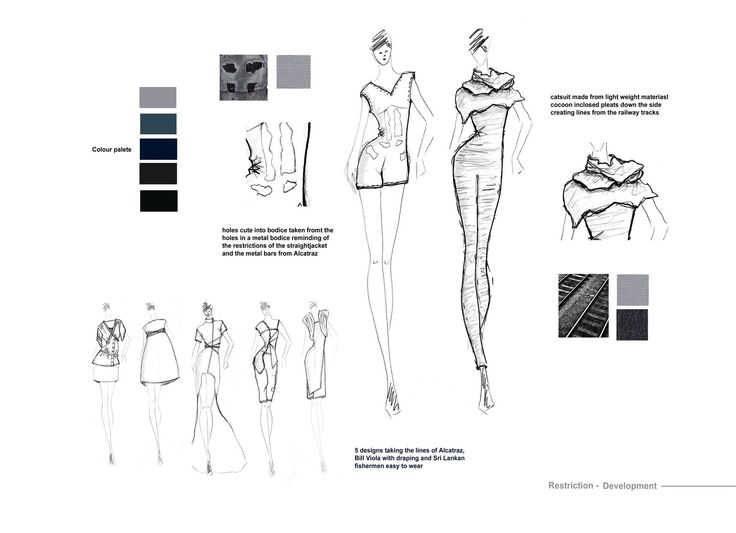 Gemma May- Fashion Portfolio: Restriction- Fashion Form and Material