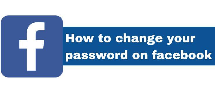 Comprehensive steps to change facebook password 1888259