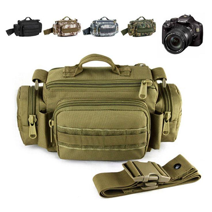 23.60$  Watch here - http://alidvf.shopchina.info/go.php?t=32238711259 - MOLLE Waterproof camera Case bag Pockets Man shoulder bags Large DSLR SLR Ultra-light Tactics Range Heavy Duty Carrier  #magazine