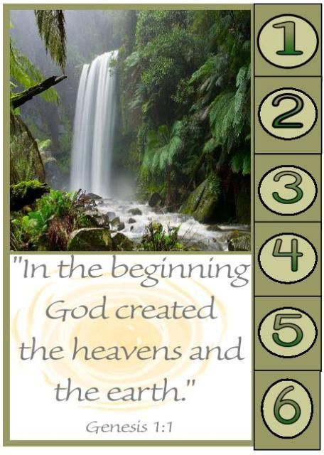 Original Dayas of Creation 1 Bible