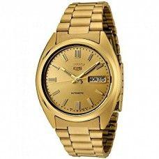 Seiko C5 Automatic Gold Watch