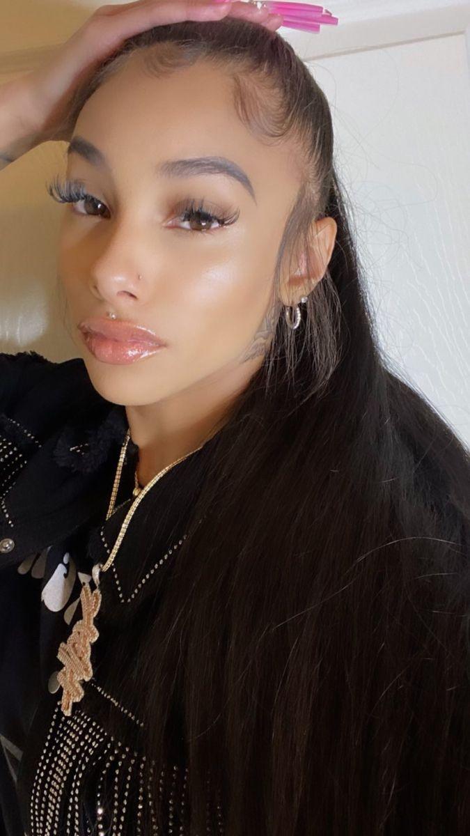 Prettybrincess In 2021 Pretty Black Girls Black Girl Aesthetic Pretty Hairstyles