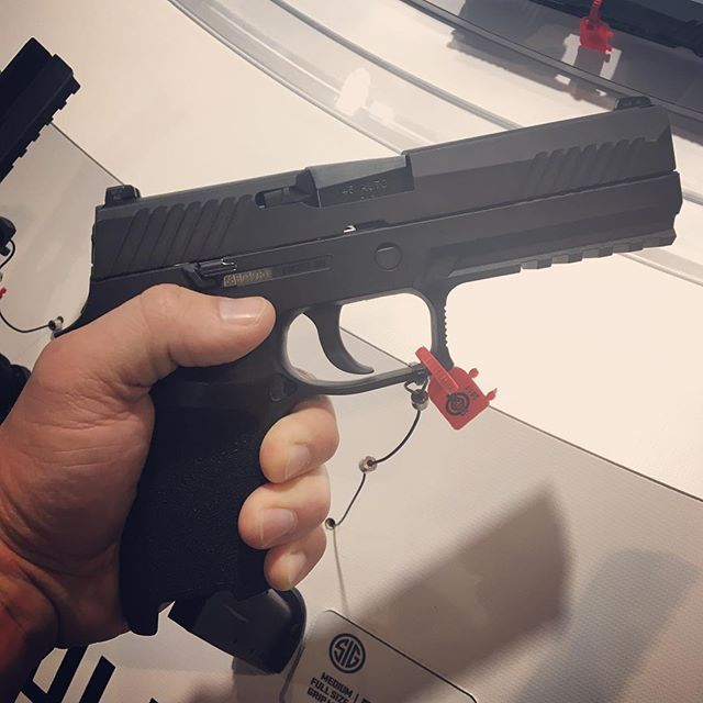 Celebrating SIG SAUER's P320 as the new United States Army service pistol. Big news from #shotshow of the $580 million contract award to SIG for the Army's Modular Handgun System. ---------- #americanhandgunner #gunsmagazine #sigsauer #congratulations #p320 #2a #igmilitia