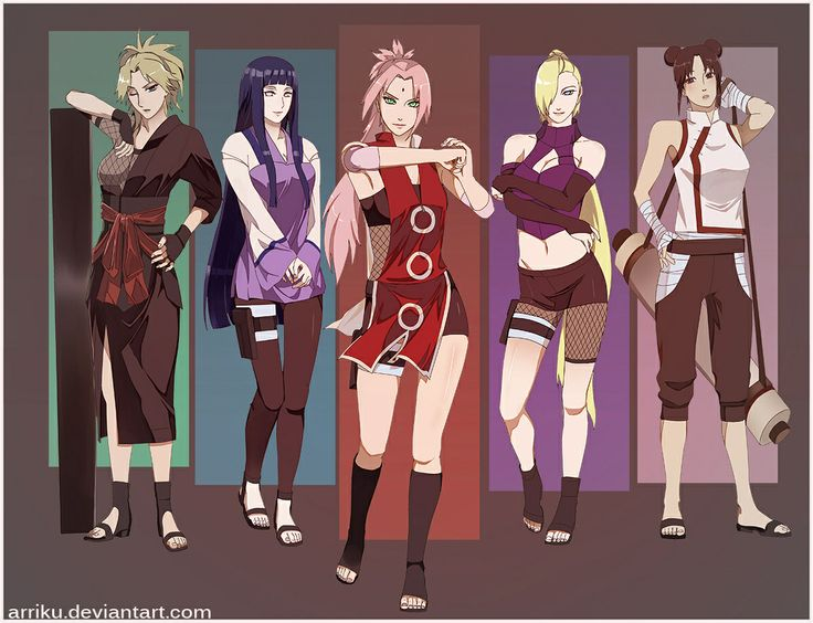 Naruto - grown up kunoichi
