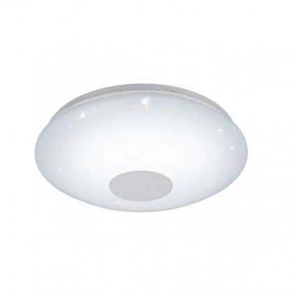 EGLO Connect VOLTAGO-C LED RGB Wand u. Deckenlampe 380mm rund weiß Bluetooth App