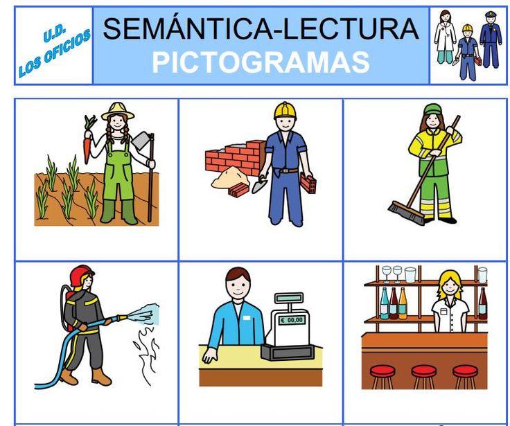 Bingo Completo De Los Oficios En Pdf : Http://arasaac.org