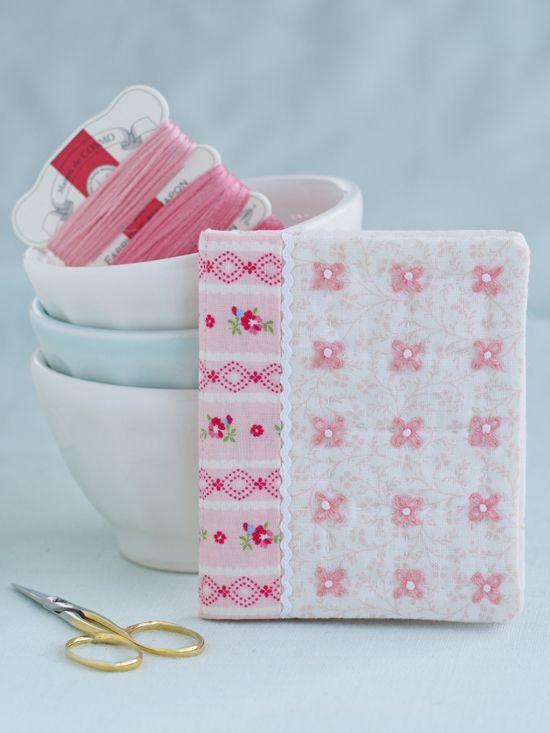 pink dogwoodneedlebook - Pretty by Hand