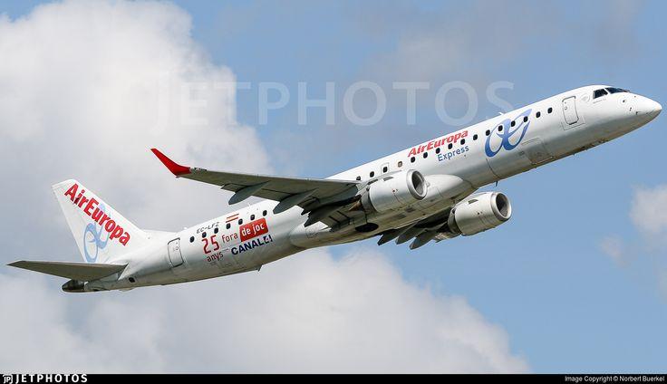Photo of EC-LFZ - Embraer 190-200LR - Air Europa Express