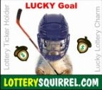 Lucky Lottery Charm Magnets - Luckt the Lottery Squirrel - LS-01