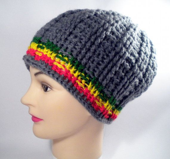 Crochet Pattern For A Rasta Hat : 1000+ images about Crochet for men on Pinterest Free ...