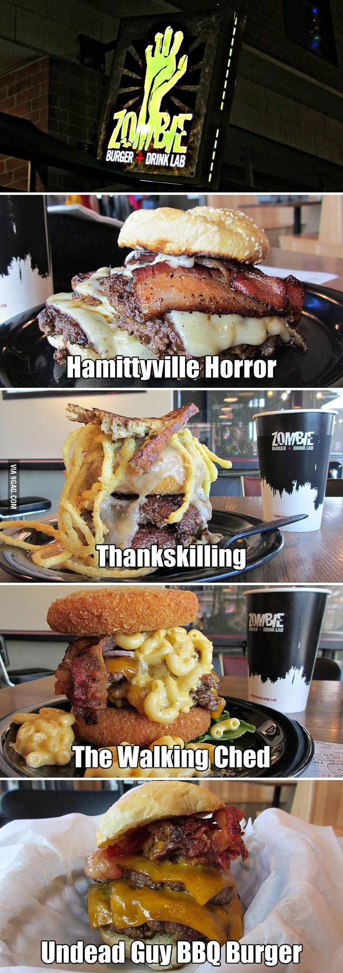 Zombie Burger on 9Gag