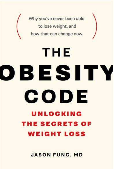 Why you can't lose weight and keep it off: my review of The Obesity Code by Dr. Jason Fung