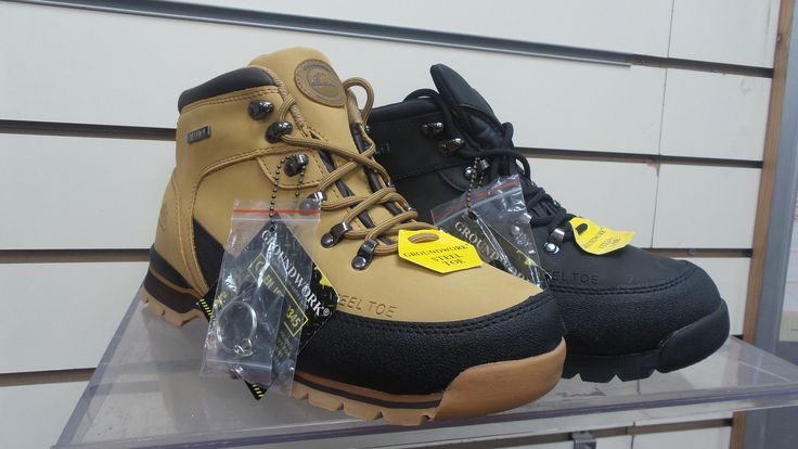 MENS GROUNDWORK LEATHER SAFETY BOOTS STEEL TOE CAP TRAINER HIKER SIZE 7-11   > http://www.ebay.co.uk/itm/MENS-GROUNDWORK-LEATHER-SAFETY-BOOTS-STEEL-TOE-CAP-TRAINER-HIKER-SIZE-7-11-/331430981046