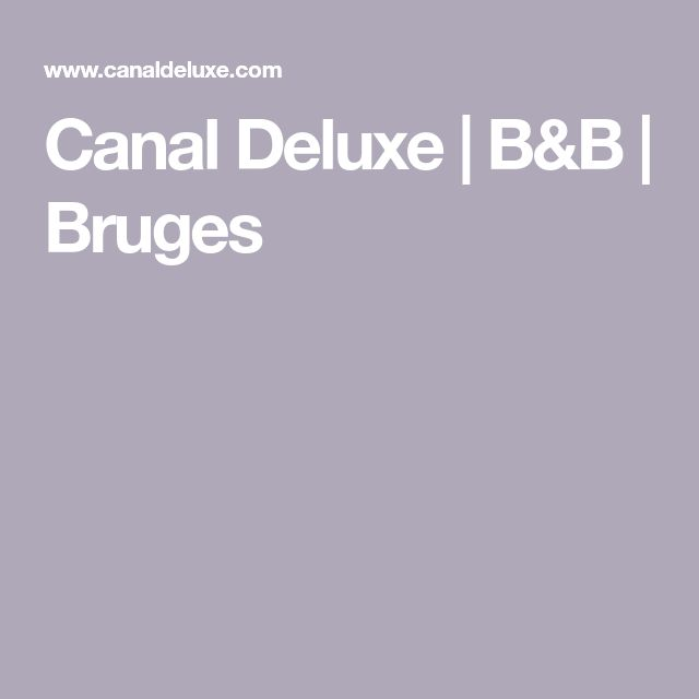Canal Deluxe B B Bruges Bruges B B Romantic Bed And