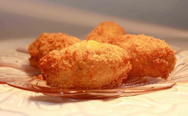 Croquetas de Roquefort y nueces
