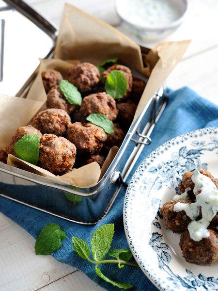 Recipe:フライド・ミートボール/スパイスたっぷりの味わいで、そのままではもちろん、カレーやパスタの具材にしたり、ラタトゥイユに加えたり、バリエーションも広がる優秀惣菜。 #レシピ