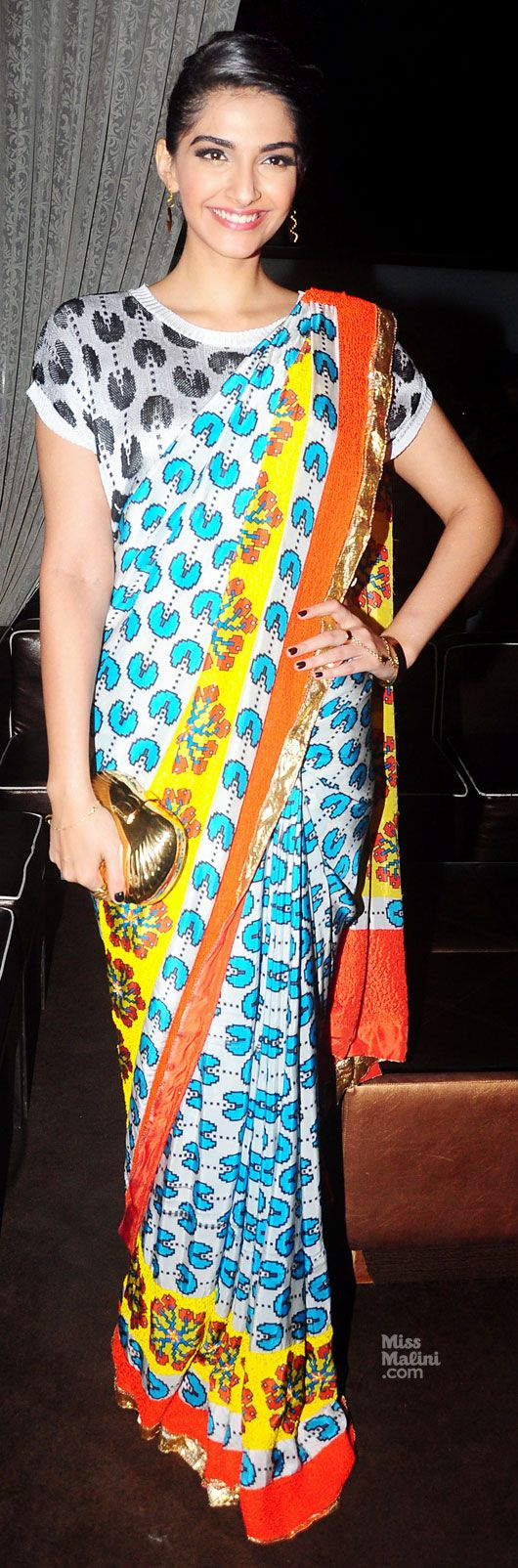 Sonam Kapoor (photo courtesy | Yogen Shah for MissMalini) pacman!