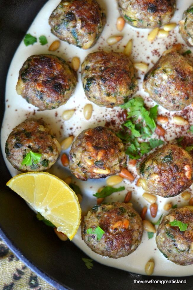 moroccan lemin meatballs