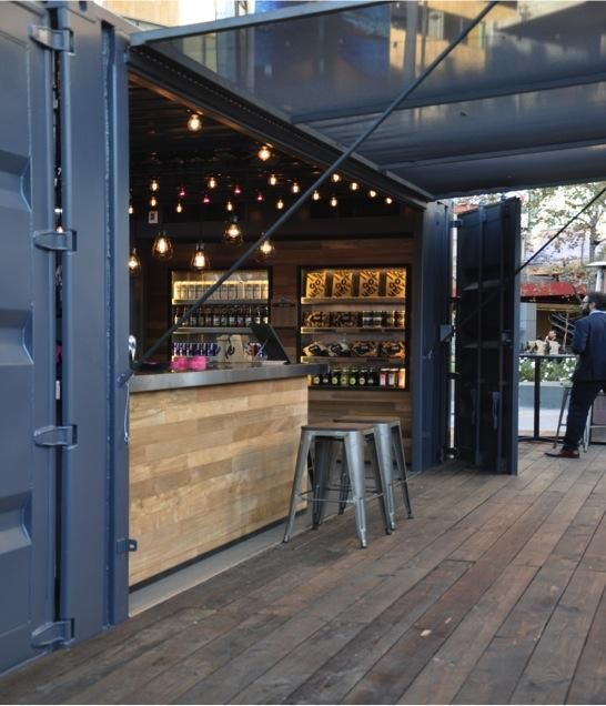 Best 25+ Container bar ideas on Pinterest | Shipping container ...