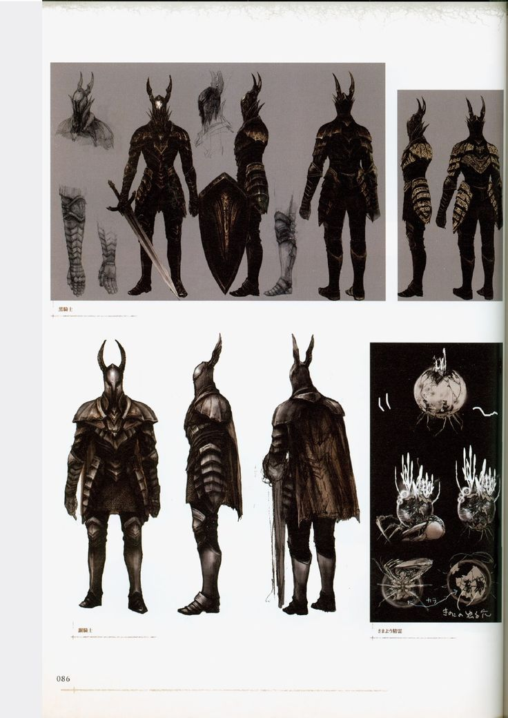 Dark Souls Character Design Process : Dark souls design works artbook concept illust
