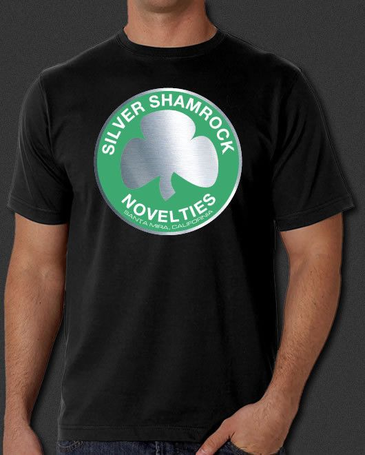 Halloween III 3 Season of the Witch Silver Shamrock Novelties New T-shirt S-6X #AlstyleApparelActivewear #BasicTee