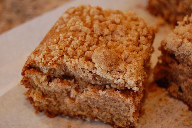 Simple Coffee Cake Recipe Breakfast and Brunch, Breads with butter, flour, brown sugar, baking powder, cinnamon, salt, eggs, milk