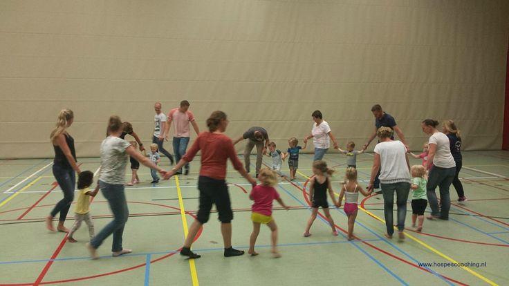 Ouder en kindgym. www.hospescoaching.nl