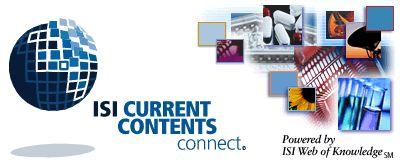 ISI Current Content Connect: base de datos del ISI que contiene referencias bibliográficas completas y resúmenes de artículos de revistas, capítulos, libros y actas de congresos de las más importantes publicaciones de investigación. Disponible a través de la Red UDC hasta el año 2010 en http://mirrorwok.fecyt.es/portal.cgi?DestApp=CCC