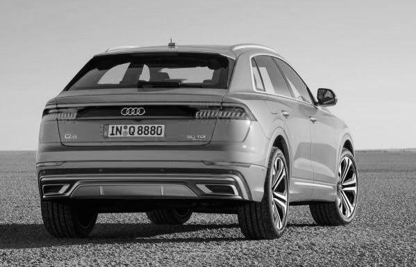 Audi Q8 Back Car Car Design