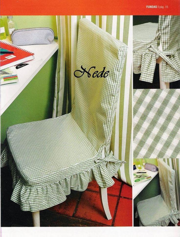 17 mejores ideas sobre fundas para sillas de comedor en - Fundas silla comedor ...