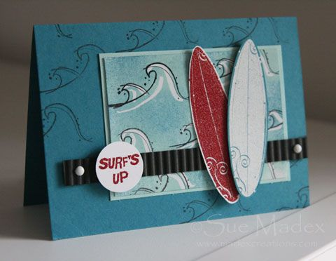 ': Cards Ideas, Madex Creations, The Ocean, Crayons Resistance, Cards Beaches, Surfing S