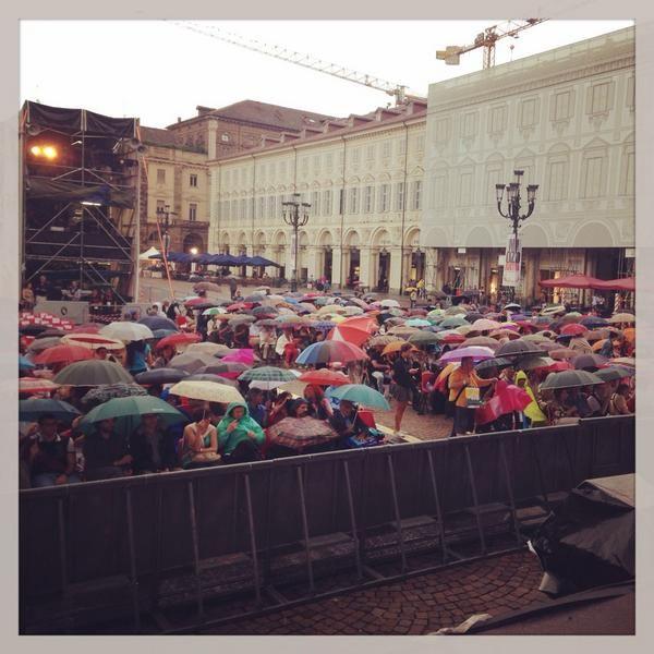 Twitter / lauracanta: Cronache dal Flauto Magico. La pioggia ancora non ci ferma. #torino #festivalmozart