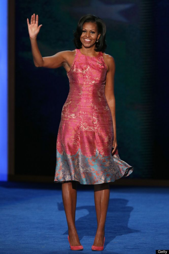 Wow! Michelle Obama Photos: First Lady Wows With Democratic National Convention Speech
