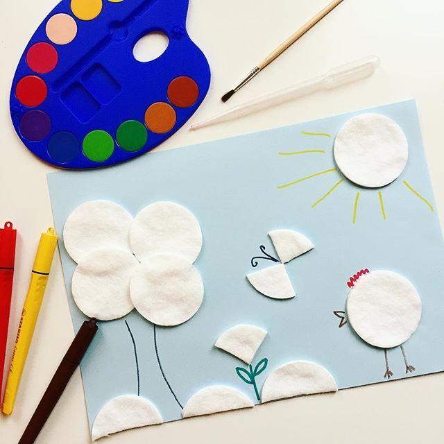 У нас сегодня раскраски  будем готовить цветную воду и капать из пипетки на ватные диски.  Я тут на выходные столько планов настроила, надеюсь, что погода не подведёт.  У вас как дела?