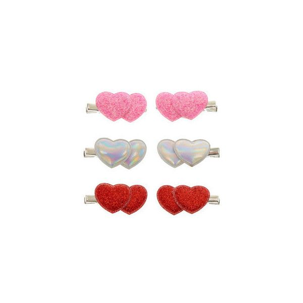 Hair Clips, Grips & Claws | Claire's US ❤ liked on Polyvore featuring accessories, hair accessories, claw hair clips, hair clip accessories, barrette hair clip and claire's hair accessories