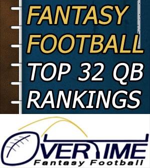 Fantasy Football Draft Rankings - Quarterbacks