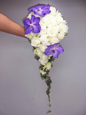 brudebukett lilla sølv - Google Search