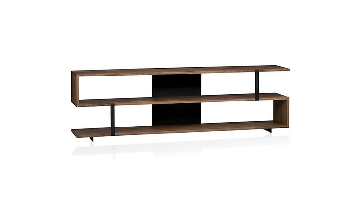 """Austin 78"""" Media Console in TV Stands & Media Consoles   Crate and Barrel"""
