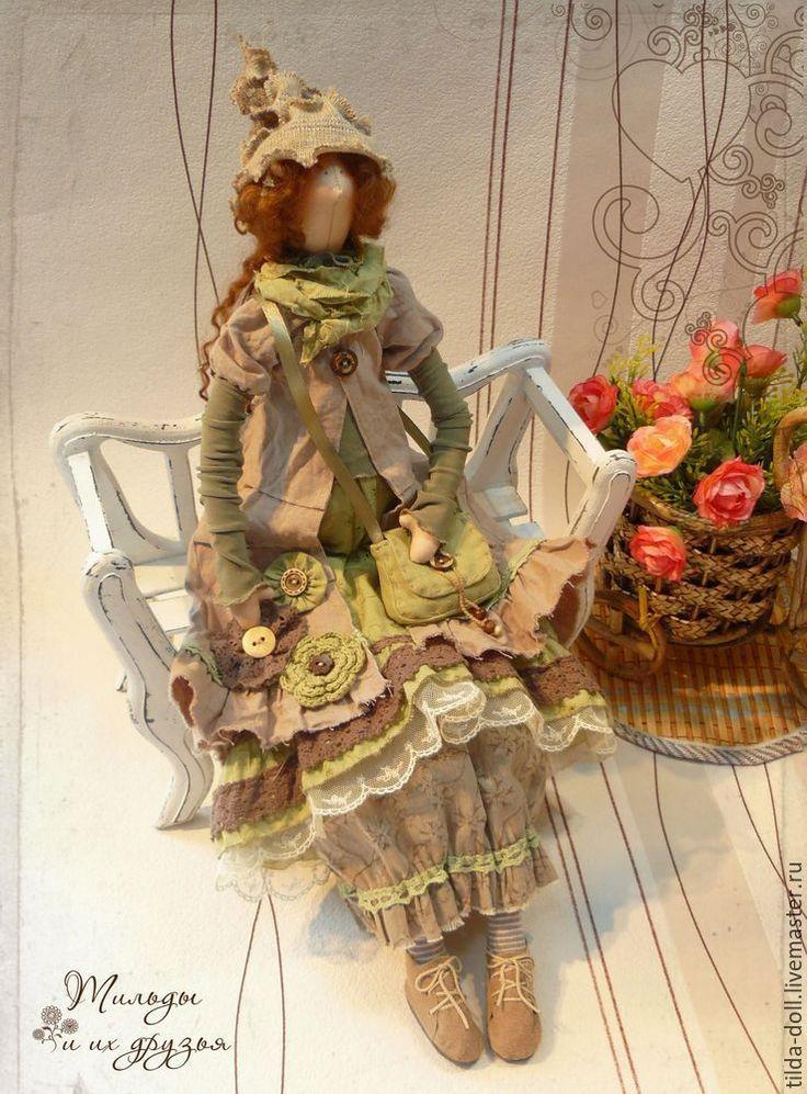 Купить Тильда в стиле Бохо: Кэтти Бри ( Бохо Шик) - тильда, кукла Тильда