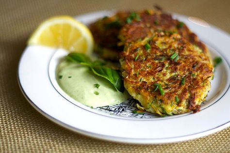 You can't beat these vegan, gluten-free fritters. Forget the eggs and white…