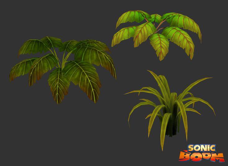 ArtStation - Sonic Boom - Plants, Martin Ocejo
