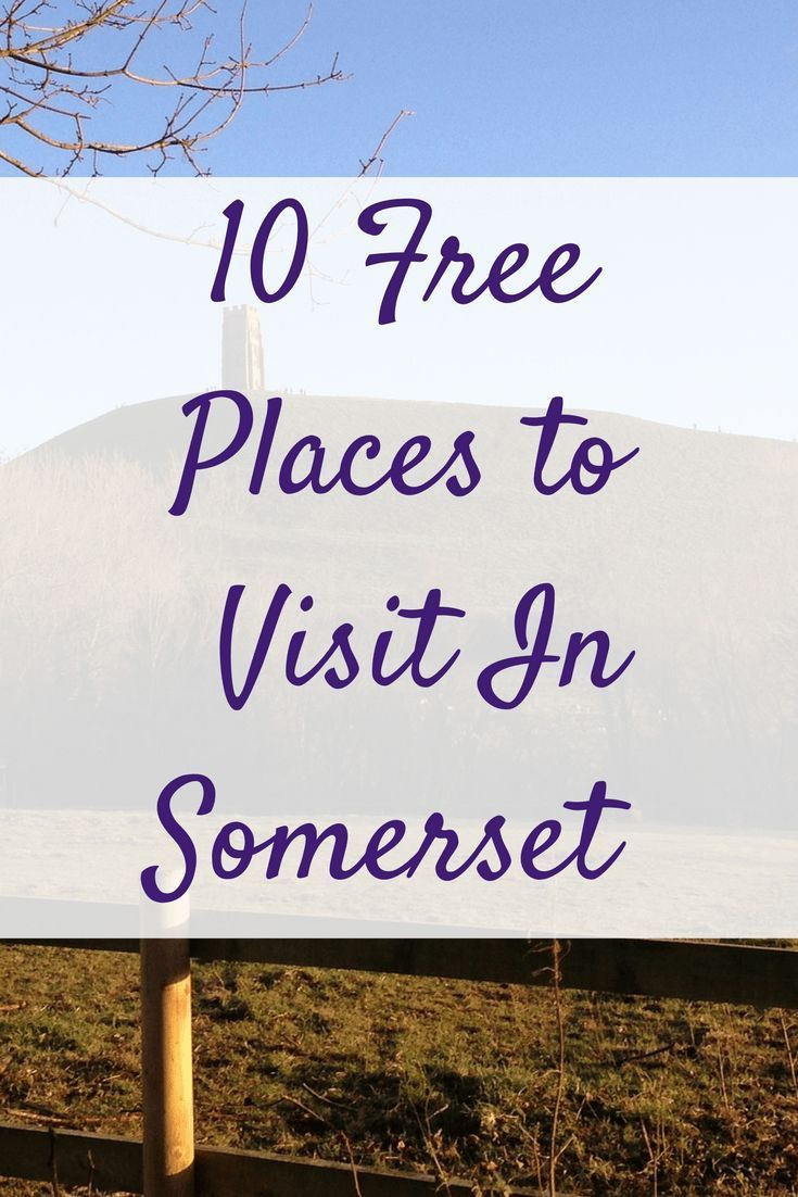 Somerset is a beautiful county with much to offer! If your're struggling for something to do this weekend check out this list