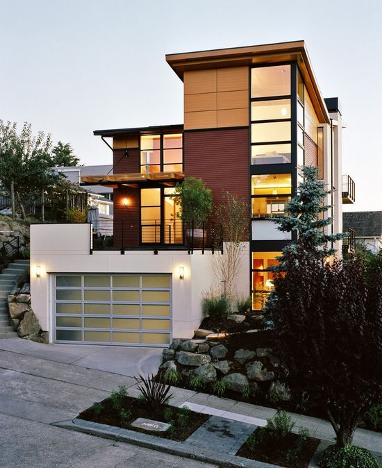 76 best house exterior images on pinterest | architecture, modern